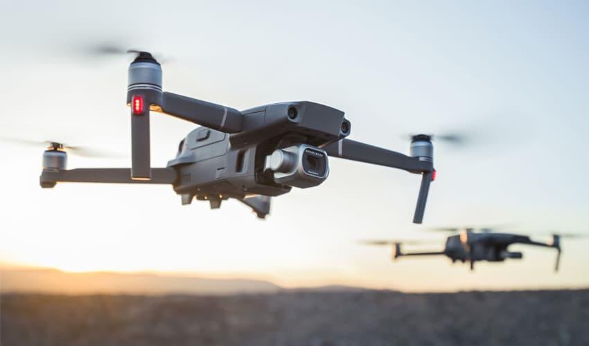 uso de drones en seguridad
