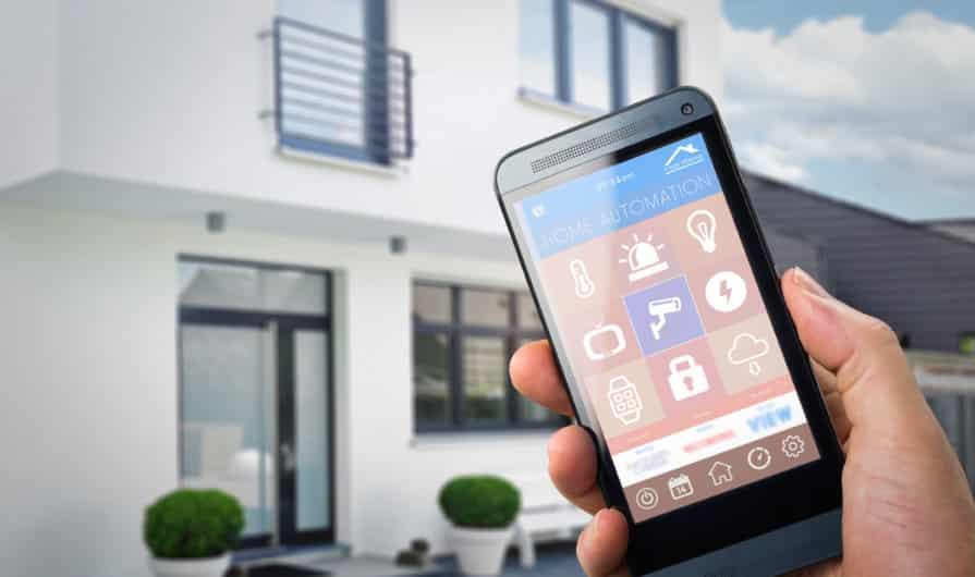 casas inteligentes y la seguridad del hogar